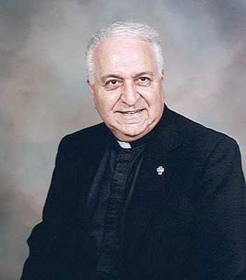 Fr. Anthony Serio, former pastor of Our Lady of Prompt Succor, Westwego