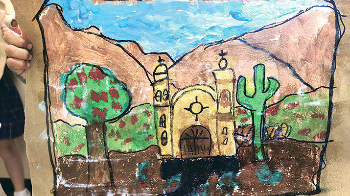 St. Pius X students are 'on a mission' in Art Club