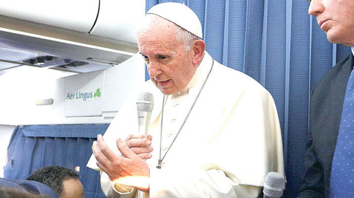 Pope: People can judge abuse claims
