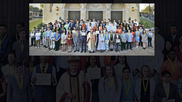 Altar Servers of the Year honored by Serra Clubs