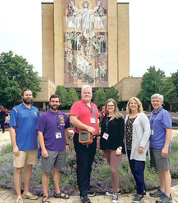 St. Paul's teachers attend science/religion seminar at Notre Dame