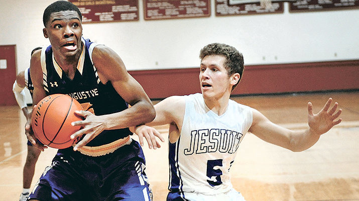 St. Aug, Jesuit 1-2 in Catholic League, or is it 2-1?