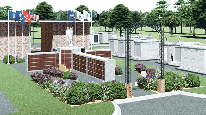 Cremation garden will serve vets, first responders