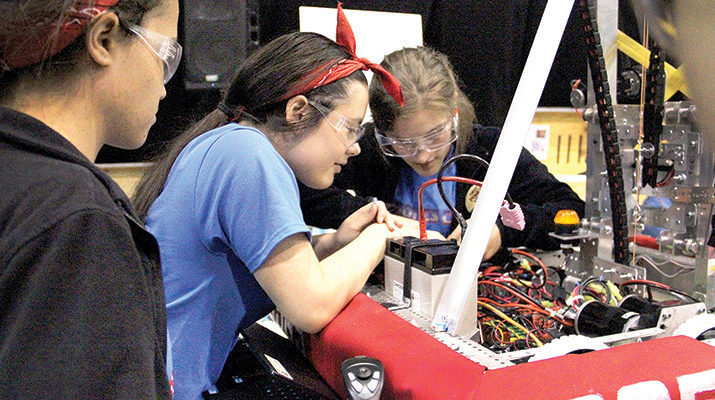 Academy of Our Lady learns teamwork in robotics