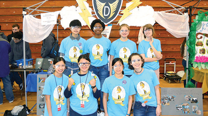 Dominican students earn robotics honors