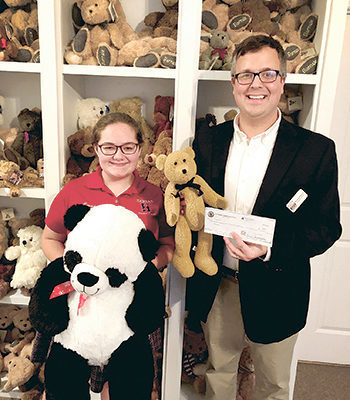 Hannan student collects bears