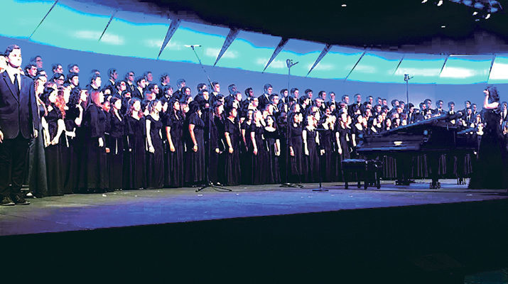 Holy Cross singers shine in national vocal ensemble