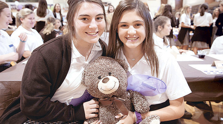 Mount Carmel holds luncheon for big and little sisters