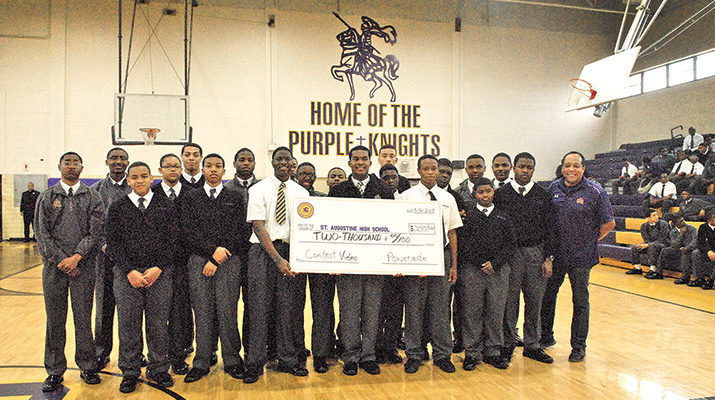 St. Aug's video team earns $2,000 to upgrade equipment