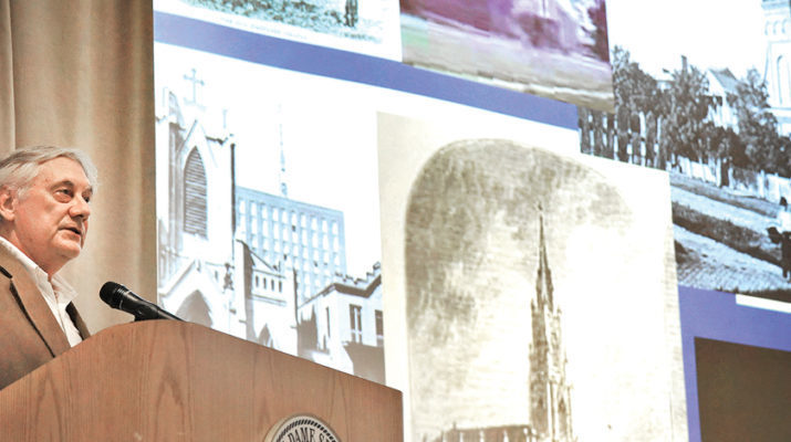 Tricentennial lecture: Churches as works of art