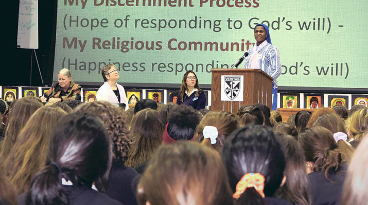 Dominican students get peek at Sisters' vocations