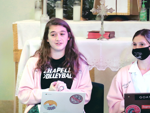 Chapelle seniors learn they are 'Daughters of God'