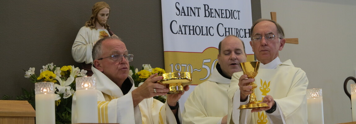 St. Benedict Parish looks back while steadily forging ahead