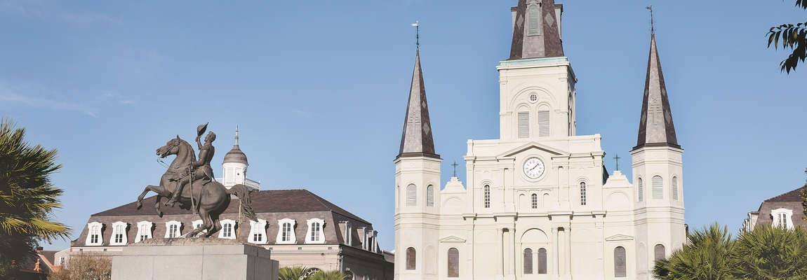 Watch Mass LIVE from St. Louis Cathedral