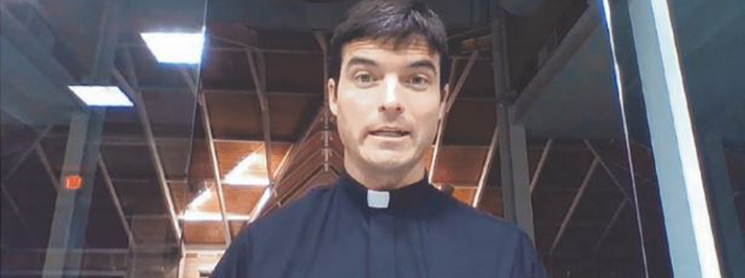 Priests use technology to teach, preach, shepherd