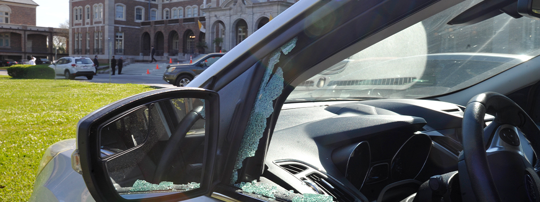 Police arrest man for smashing 41 car windows at Notre Dame Seminary
