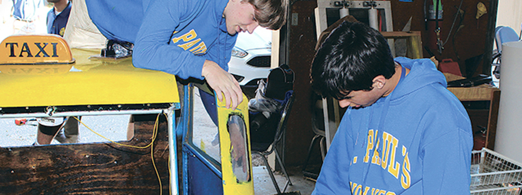 St. Paul's small car club builds camaraderie, skills