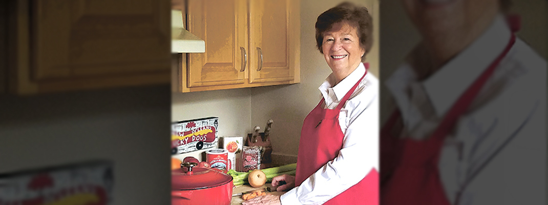 Cooking is in DNA of Sacred Heart's Sr. Guste