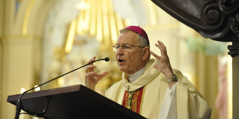 Abp Aymond: Jesus will never be 'socially distant' from us