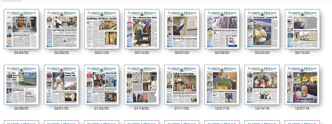 Clarion Herald available online