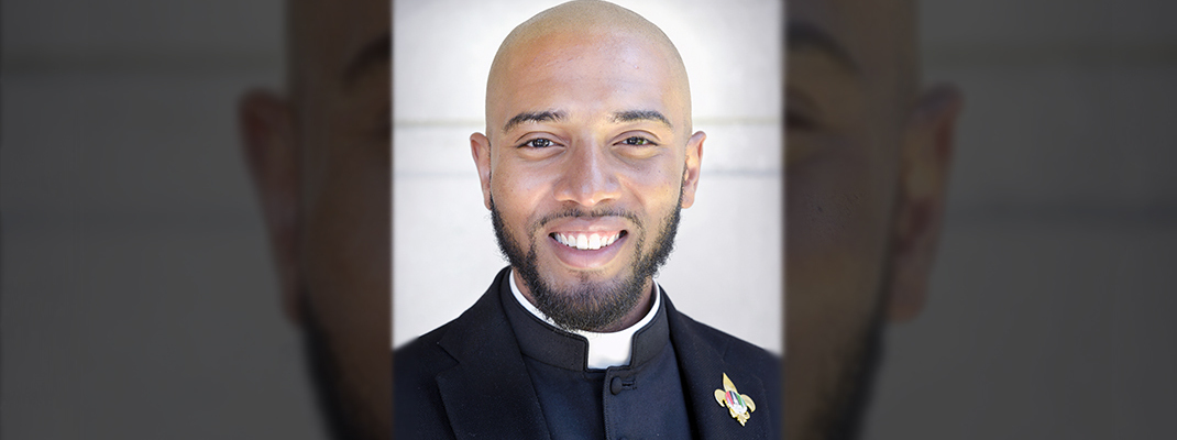 Meet transitional deacon candidate Ajani Gibson