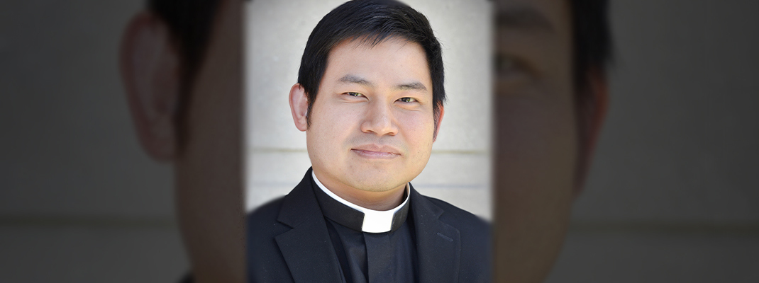 Meet transitional deacon candidate Truong Pham