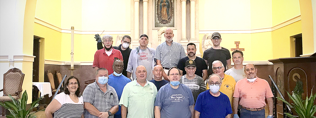 Sheriff's Office volunteers keep Our Lady of Guadalupe sparkling