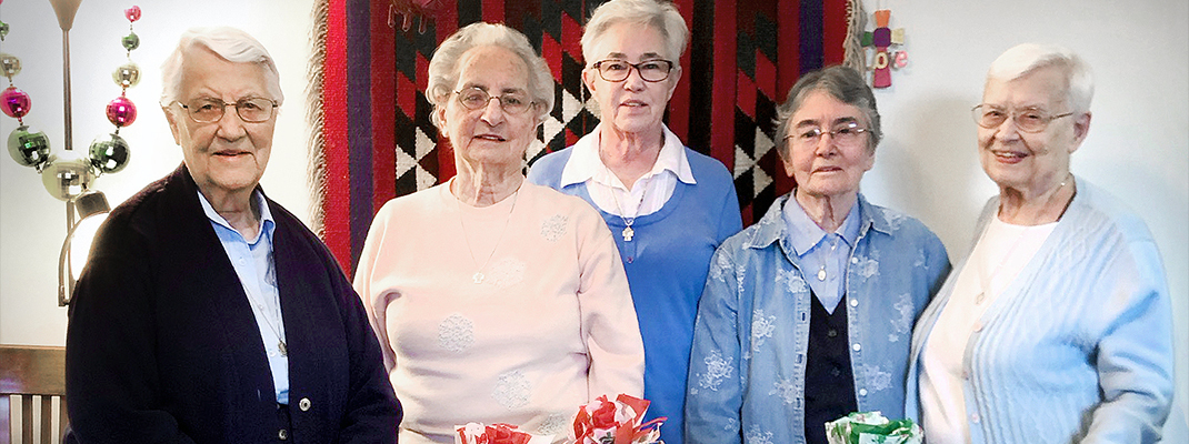 Five Daughters of Charity prepare to leave N.O.