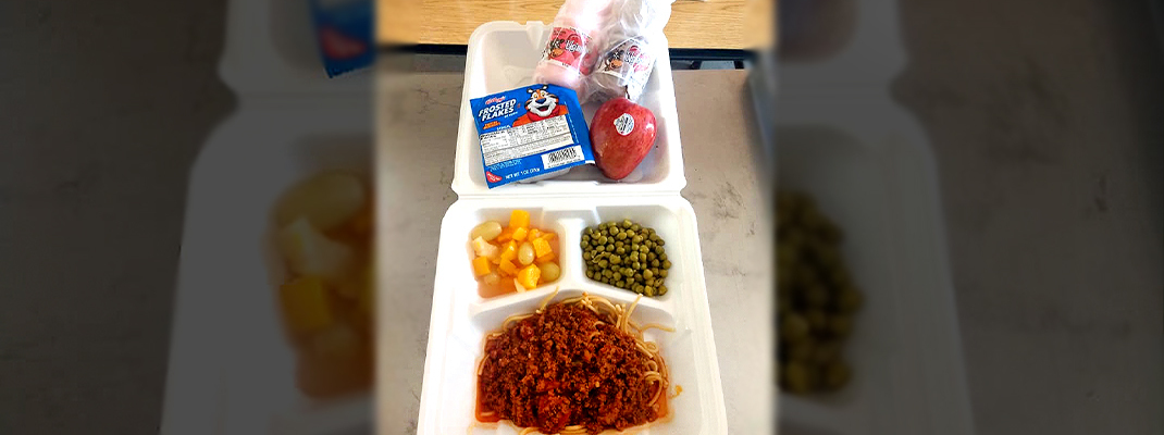 Same yummy food, new routines at school cafeterias