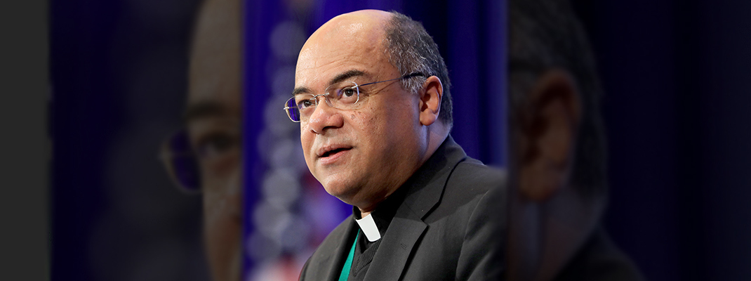 Bishop Fabre: Hard work can lead church to overcome racism