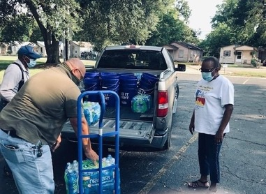 Knights of Peter Claver members feed the needy in Lake Charles