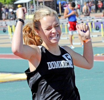 Catholic school girls shine in state's track arena