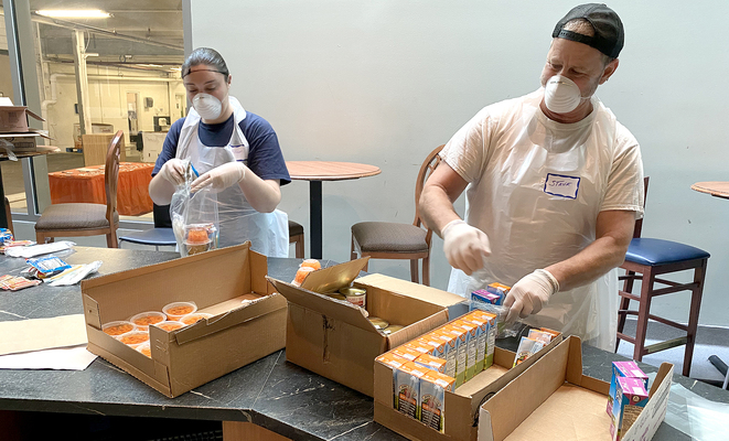 $25 million food bank donation came out of left field