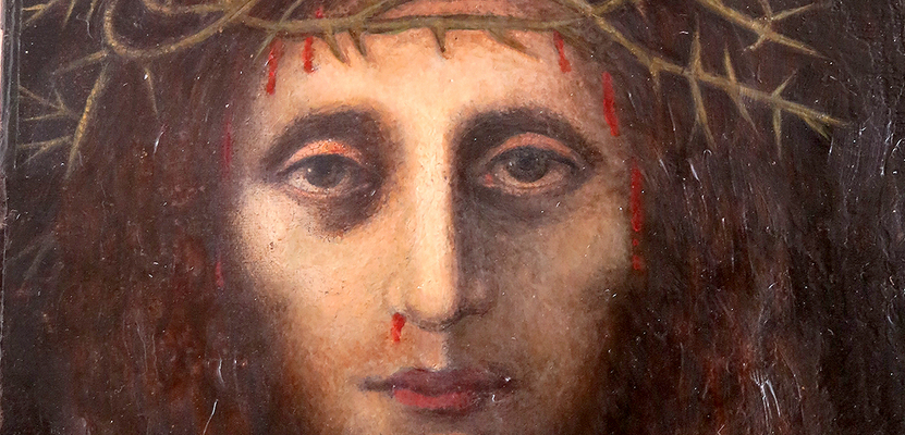 Hidden face of suffering Jesus emerges at St. Roch