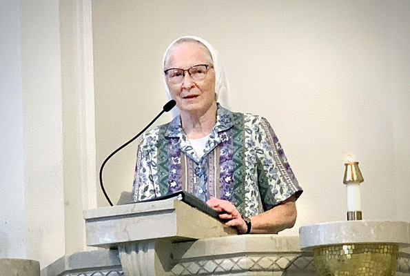Sister Margaret Mary Faist reflects on 50 years