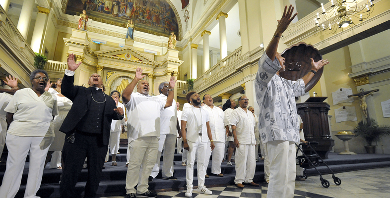 After 18 months of virtual silence, unscripted applause at Mass