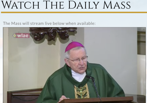 Abp. Aymond: God never turns a deaf ear to our suffering