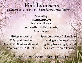 Pink Luncheon