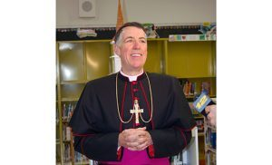 Bishop Checchio celebrating Mass on 2 February 2020 - 12 Noon