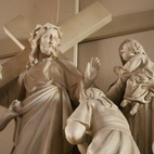 Stations of the Cross at abortion facility