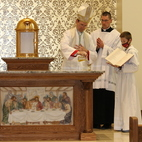 Dedication Mass marks opening of St. Joseph's Chapel in Jamestown