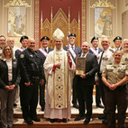 Blue Mass honors those serving in public safety