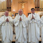 Church in Harvey a community fostering vocations