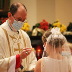 First Communicants share hopes and experiences in receiving the Eucharist