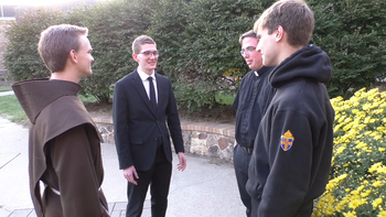 Fargo's seminarians are regular college students but with higher purpose