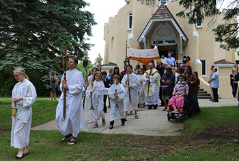 St. Mary's in Dazey Continues 115-Year Corpus Christi Tradition