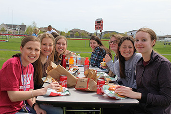 Arby's Restaurants Surprise Shanley High School Seniors with Pre-Graduation Meal