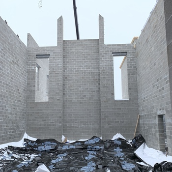 Despite weather woes, St. John's Academy construction continues
