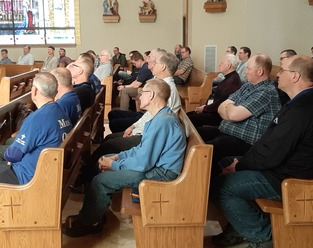 Seeking to be a true man: Ecclesia Domestica comes to Fargo Diocese