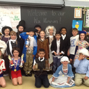 Live wax museum event at Immaculate Conception School